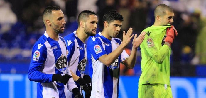 Los jugadores piden disculpas tras el Dépor-Valencia