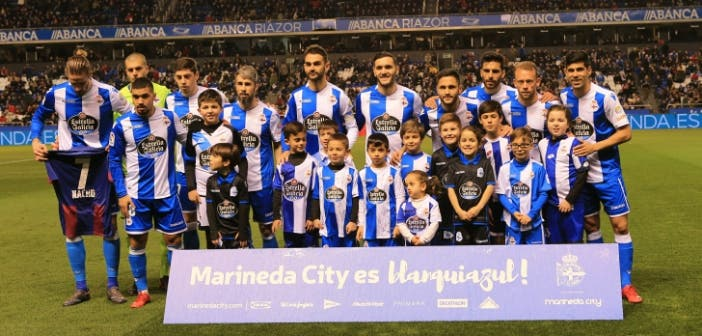 Once inicial del Deportivo - Betis
