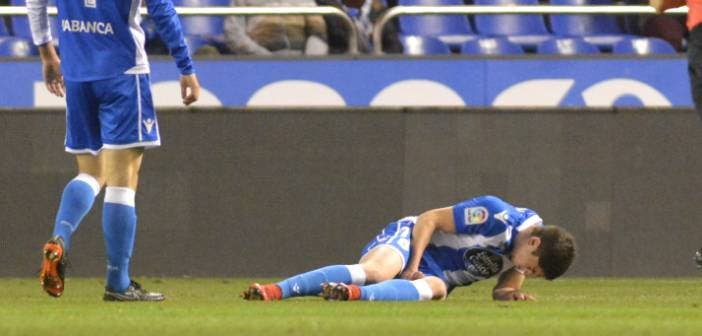 Lesión de Fede Valverde durante el Deportivo - Betis