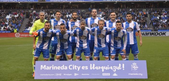 Once inicial, Deportivo-Barcelona