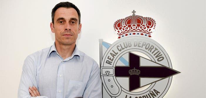 Carmelo del Pozo, nuevo director deportivo del RC Deportivo