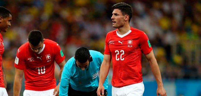Schär salva un punto de oro para Suiza ante Brasil