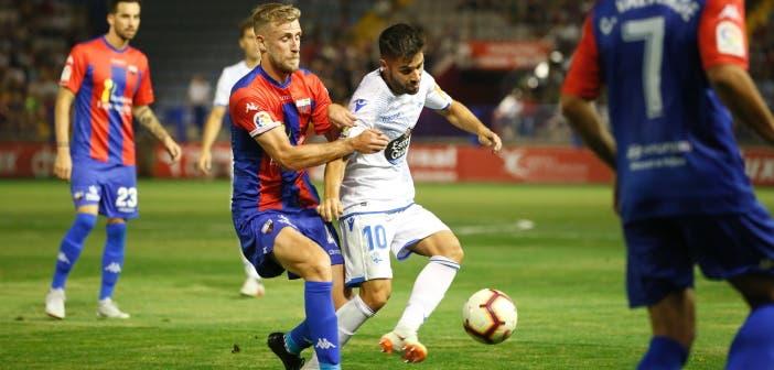 Carles Gil en el Extremadura vs Deportivo
