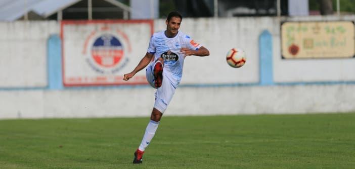 Celso Borges durante un partido del Deportivo