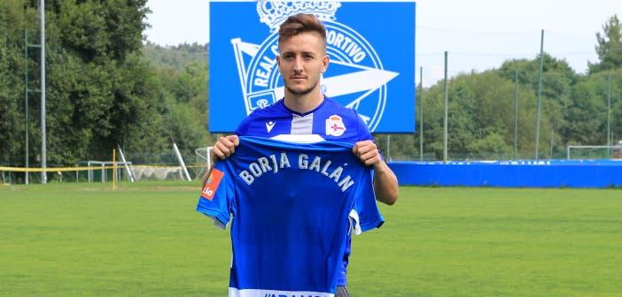 """Borja Galán: """"Me siento un jugador más hecho, con más descaro y desequilibrio"""""""