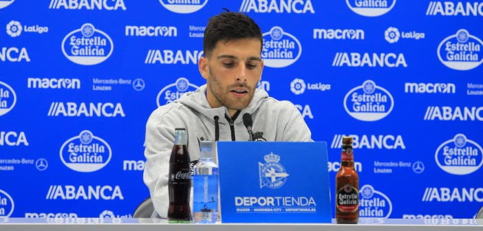 "Bóveda: ""No nos sentimos inferiores al Huesca"""