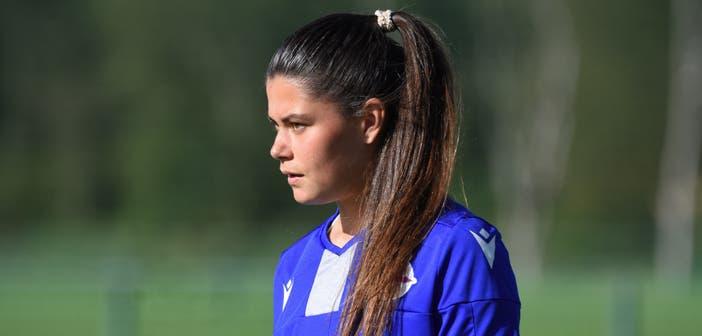 """María Méndez: """"Soy una jugadora muy exigente, si juego un partido mal, estoy rayada durante varios días"""""""