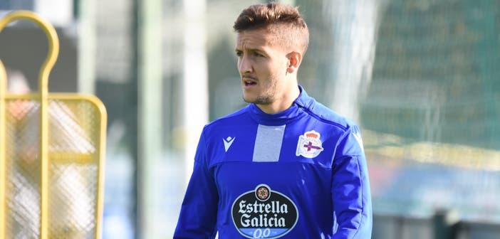 Borja Galán jugará el Bergantiños vs Deportivo