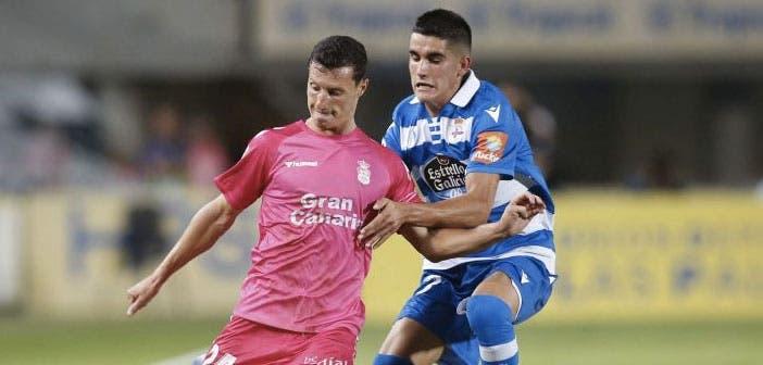 Jorge Valín en el Deportivo vs UD Las Palmas