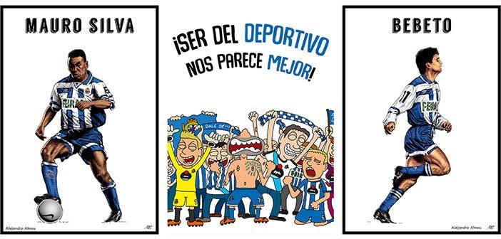 Deportinta: 31 ilustraciones de dorsales históricos del Dépor