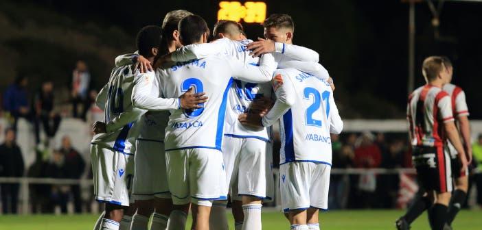 Illueca vs Deportivo: Celebración gol