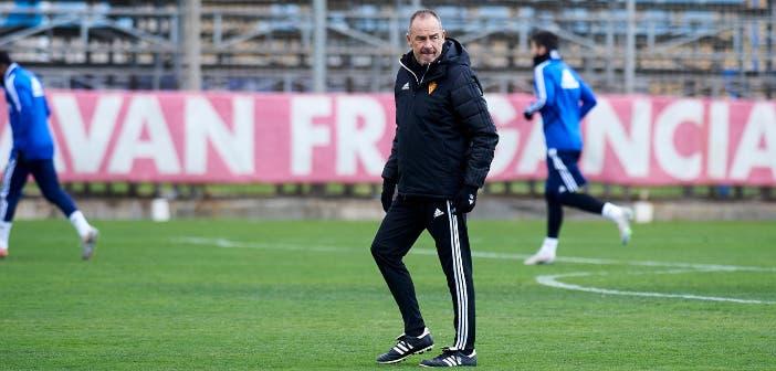 Víctor Fernández, entrenador del Zaragoza