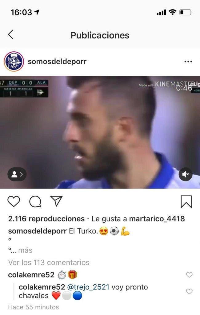 Emre Çolak instagram