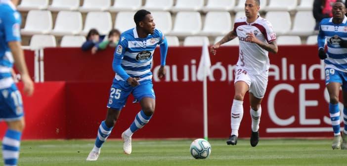 Albacete vs Deportivo: Uche Agbo