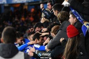 Las imágenes de la victoria del Deportivo ante el Racing
