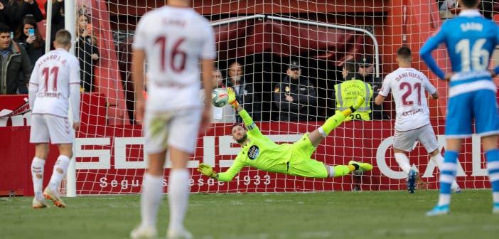 Dani Giménez levanta de nuevo su muro