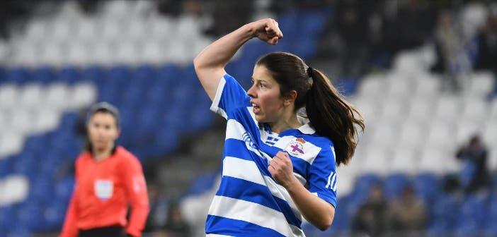 Peke celebra un gol con el Dépor Abanca