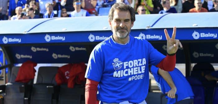Doctor Lariño. Michele Somma: camiseta de apoyo
