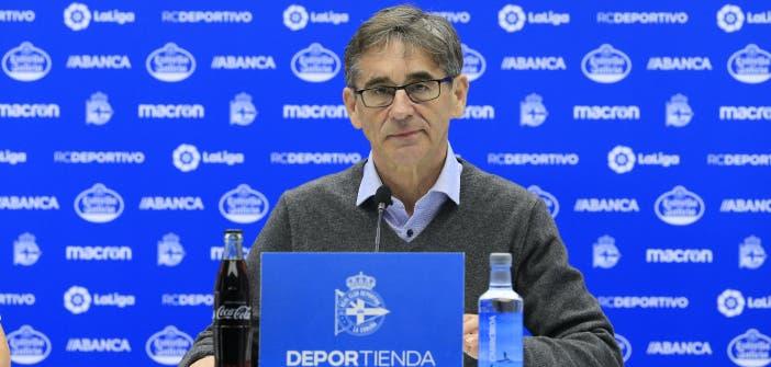 Fernando Vázquez analizó el Deportivo vs Lugo