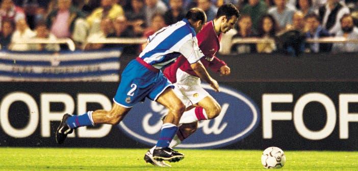 Deportivo Manchester United Manuel Pablo Ryan Giggs