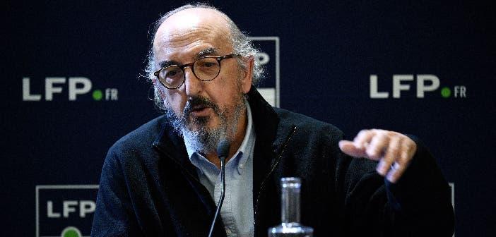 Jaume Roures en una rueda de prensa