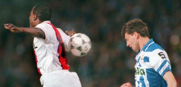 Miroslav Djukic con el Deportivo
