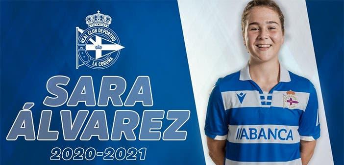 Sara Álvarez renueva con el Dépor ABANCA