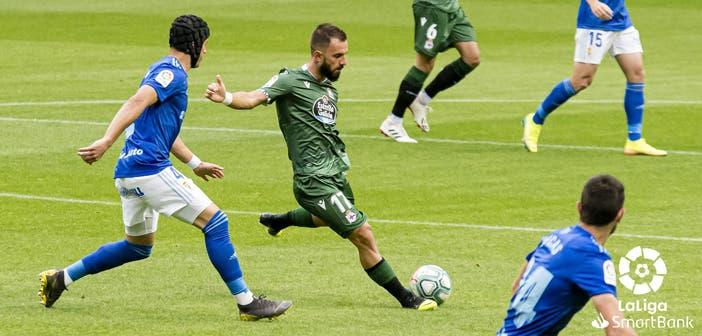 Çolak en el Oviedo vs Deportivo