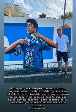 Bebeto mural Deportivo