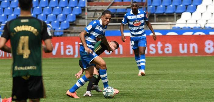 David Simón en Deportivo vs Ponferradina