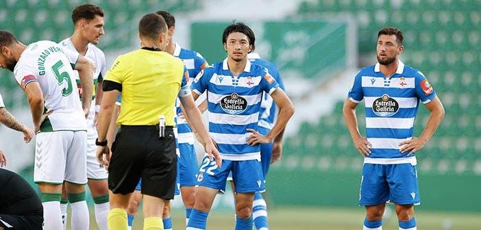 Gaku Shibasaki, expulsado con el Deportivo