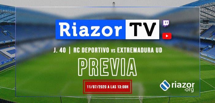 Deportivo vs Extremadura