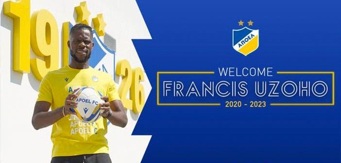 Francis Uzoho, nuevo portero del Apoel FC