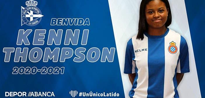 Kenni Thompson, nueva jugadora del Deportivo ABANCA