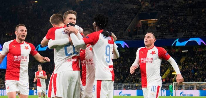 El Slavia de Praga, campeón de la liga checa