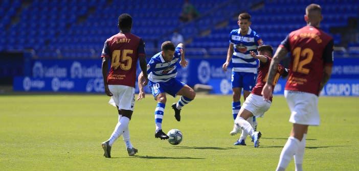 La libreta del Deportivo 2-3 Extremadura