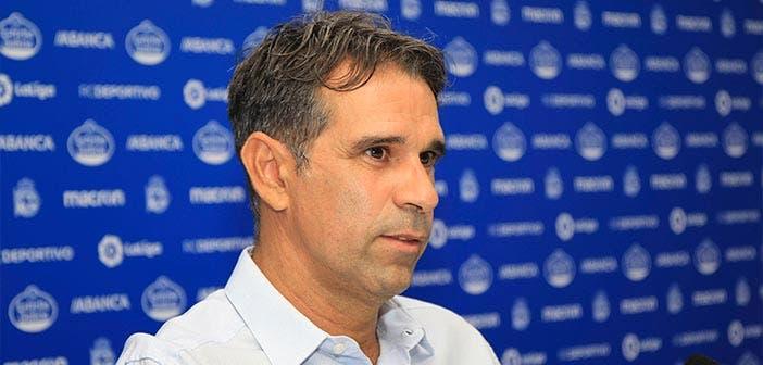 Valerón, entrenador del Fabril