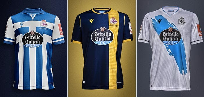 Camisetas del Deportivo temporada 2020-2021