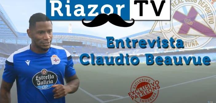 """Claudio Beauvue: """"Cuando me quita no me gusta. Te enfadas, pero luego baja la presión"""""""