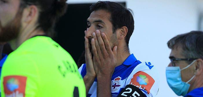 Celso Borges, en el Guijuelo vs Deportivo
