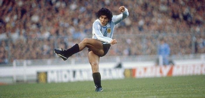 Diego Armando Maradona, un futbolista inigualable