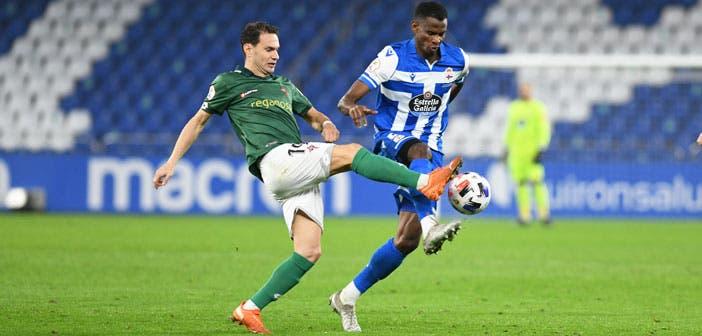 Uche Agbo con el Deportivo