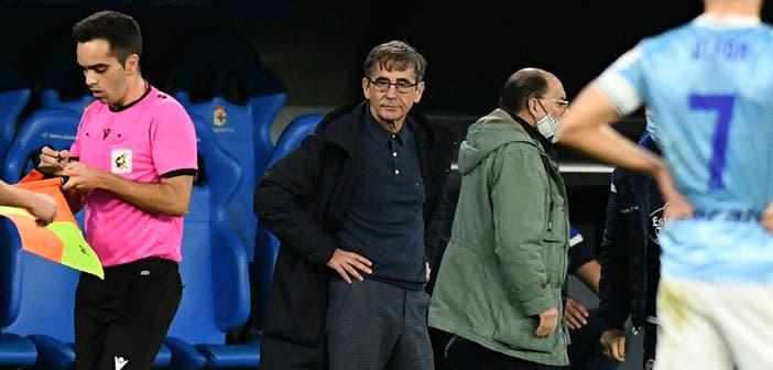 Fernando Vázquez con el Deportivo
