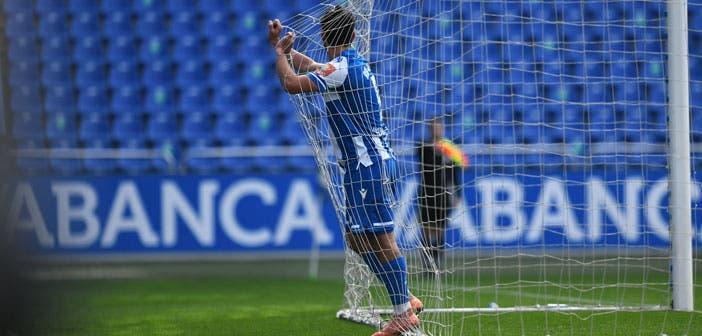 Rui Costa con el Deportivo