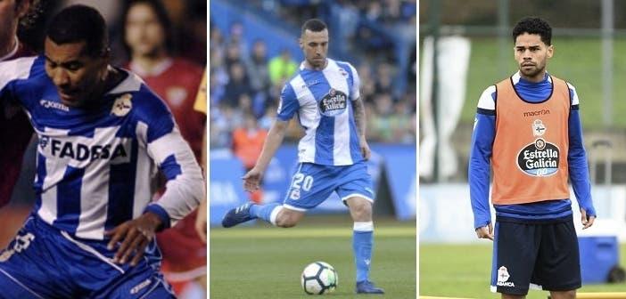 Mauro Silva, Guilherme y Raí, tres brasileños del Dépor