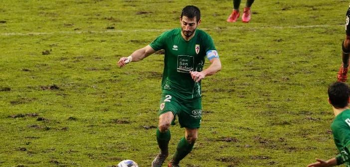 Saro jugador del Compostela