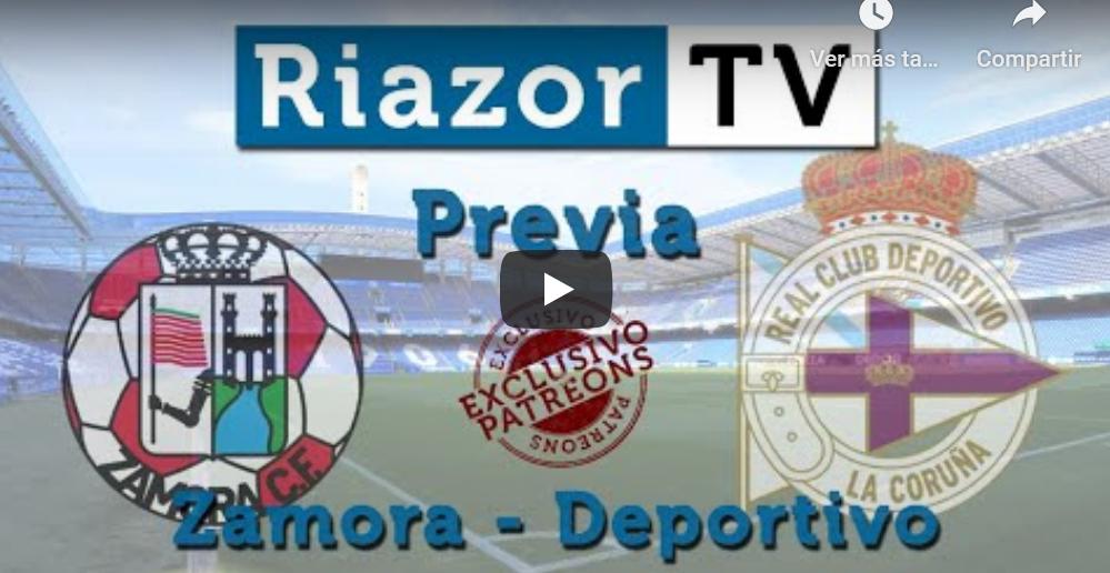 Previa Zamora vs Deportivo