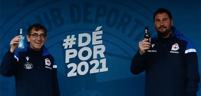 Fernando Vázquez y Manu Sánchez
