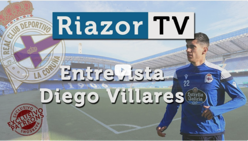 """Diego Villares: """"Rubén me pide que sea el mismo del Fabril"""""""