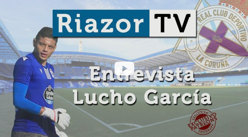 Lucho García con el Deportivo